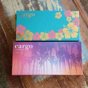 Cargo eye shadow pallets